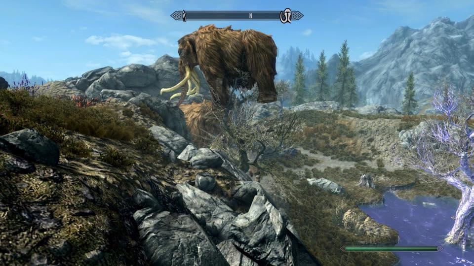 è il mammuth un equilibrista o l'albero fortissimo