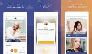 Dating app Once layout