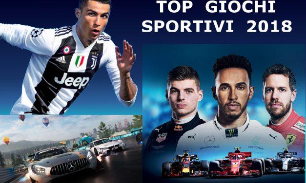 I Migliori Videogiochi Sportivi del 2018