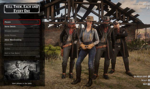 Red Dead Online: correzioni per facilitare il guadagno di denaro in-game