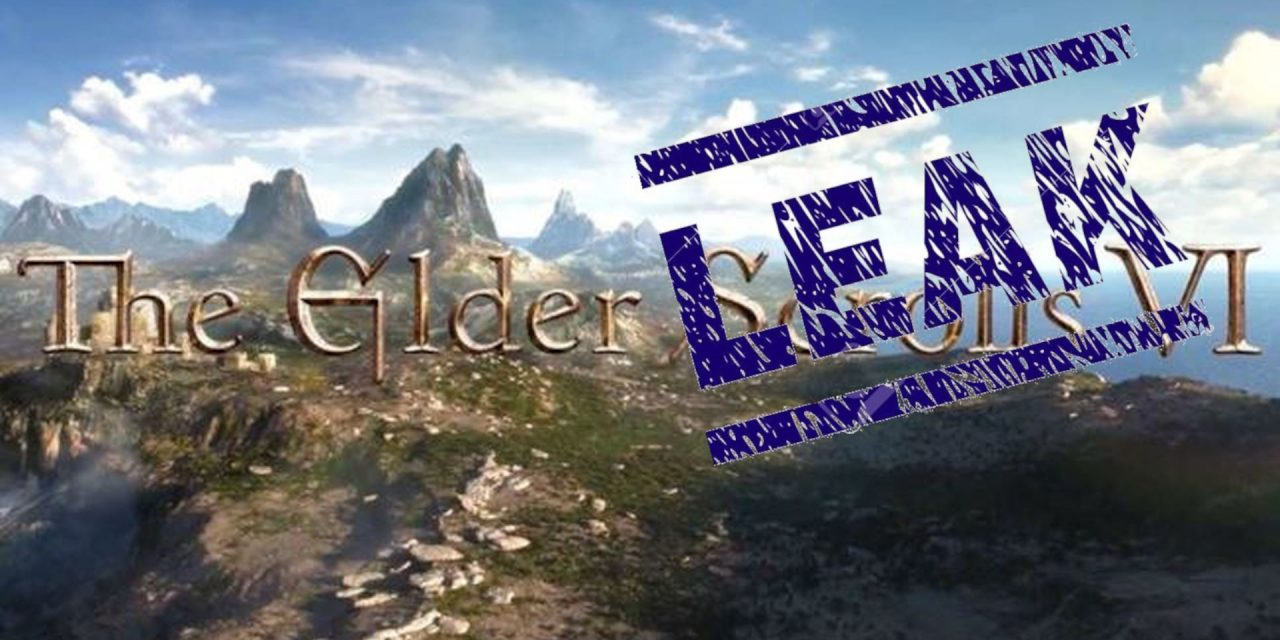 The Elder Scrolls VI: Leak da reddit